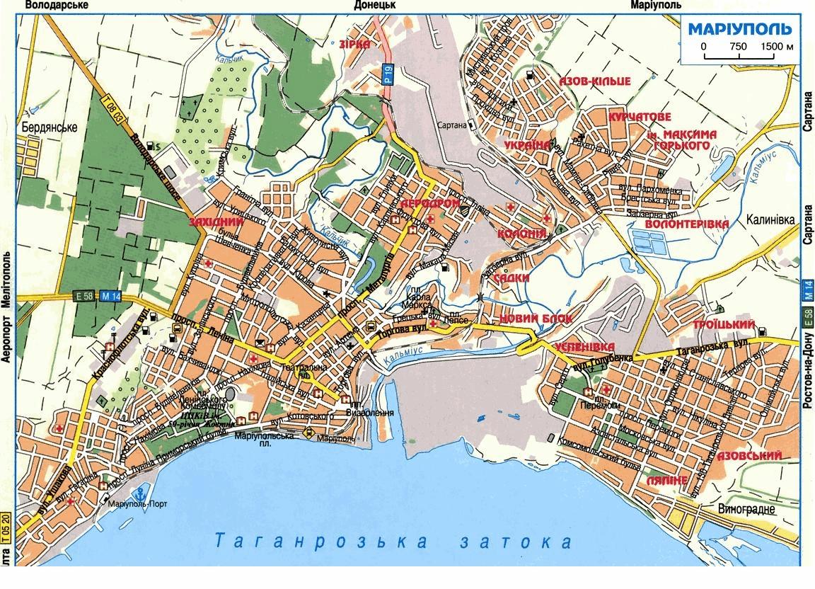 карта Мариуполя, Диваны Мариуполь