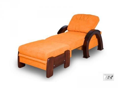 кресло Атлантик с пуфом