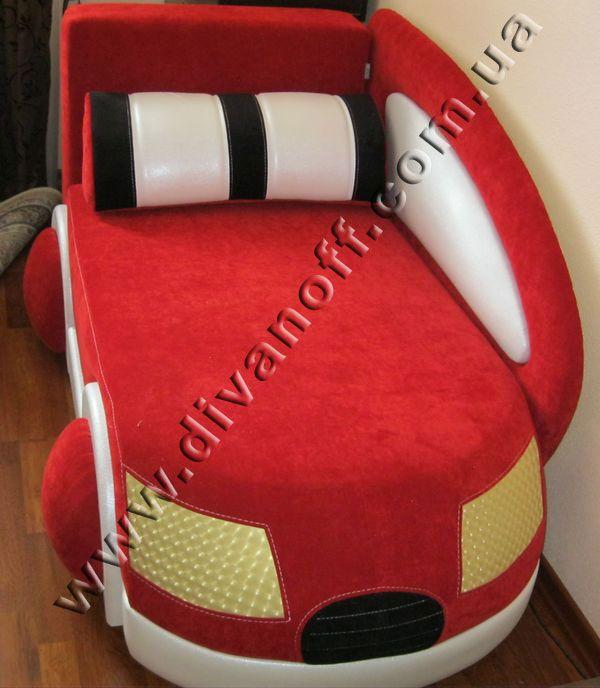 диван драйв красный