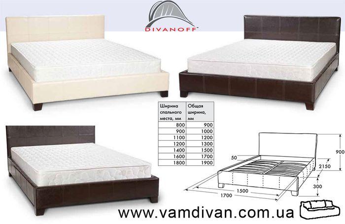 Кровать Сиеста, молеро 025 и 315