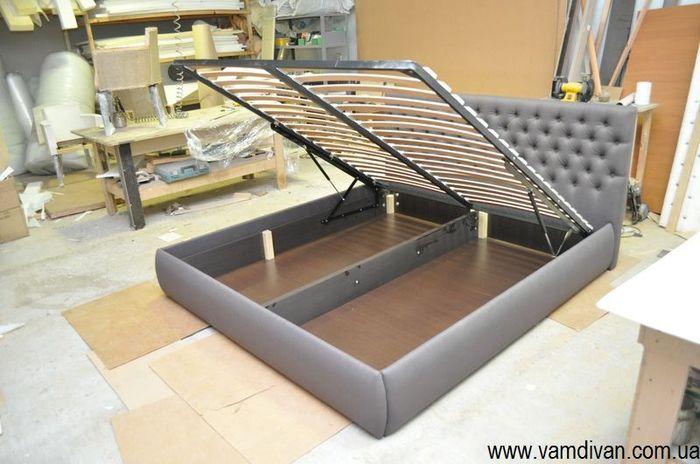 Кровать Виченца с ламелями