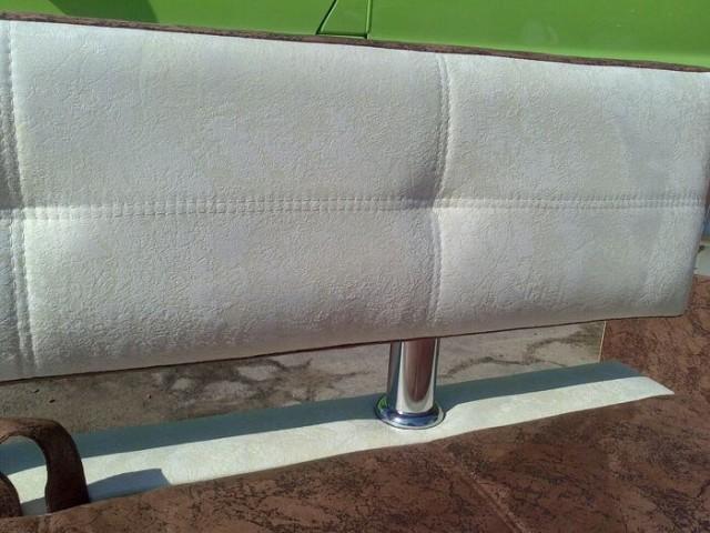 маленький угловой диван для кухни бастион с боковой спинкой и