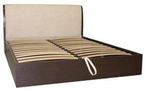 кровать из дсп и каркасом